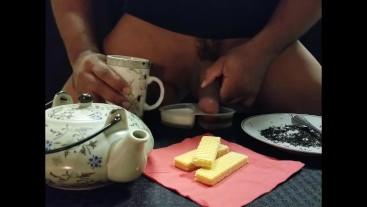 Cock Chef Tea Time