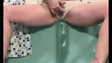 Pissing waterfall, sexy stream
