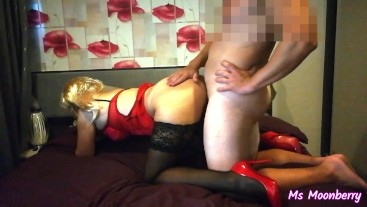 [FULL] Sucking and fucking in sexy outfit ends with a creampie while riding