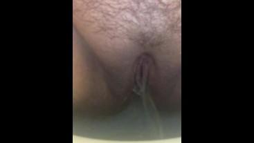 Fresh Messy Morning Pee