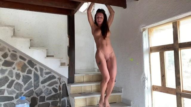 Travelling naked Naked traveler - the new pornstar