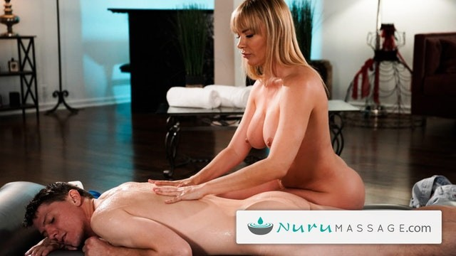 Oiled up naked girls Nurumassage my girls hot busty mom oiled me up