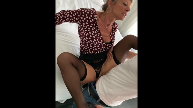 Mobile guys sex videos - French blond milf marina beaulieu gets fucked by a stranger - mysexmobile