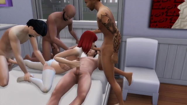 Wife anniversary nude - Ddsims - wife gangbang in front of husband on anniversary - sims 4