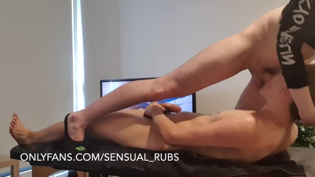 Gay massage erotic stories - Asian with great ass gives me blowjob after erotic massage and cums a lot