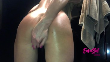 Public Orgasms and Piss in the Solarium and Girl's Lockers
