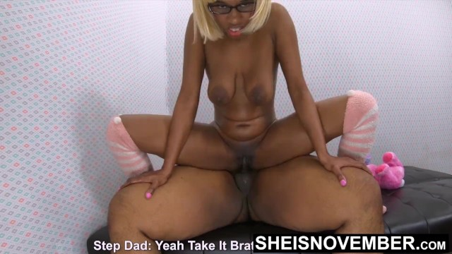 Zitty teen sex - Sodomized my step daughter with her big saggy ebony titties bouncing hd