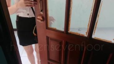 Thai student โทรเรียกนักศึกษาไซด์ไลน์ม.ดังมาเย็ดจนน้ำหมดตัว(เสียงไทย)