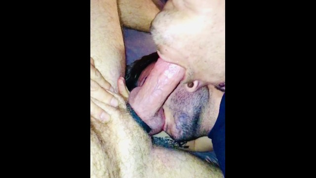 Gay guys socking dick - Two spanish guys sucks turkey dick