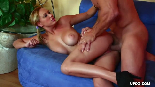 Busty blonde honey, Alexia Rae had hardcore sex, in 4K