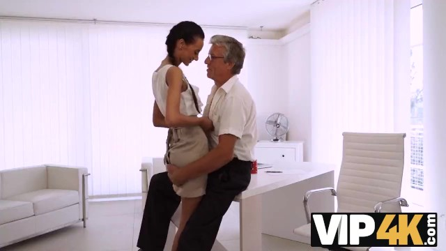 Old boss fucks young secretary - Vip4k. tight young pussy of bewitching secretary liliane