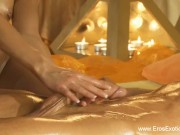Massage In The Golden Light Of Love