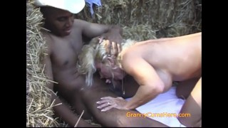 Granny FUCKS a BLACK Field Hand