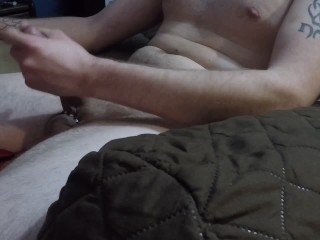 watch my big throbbing Precum oozing cock grow then MASSIVE CUMSHOT