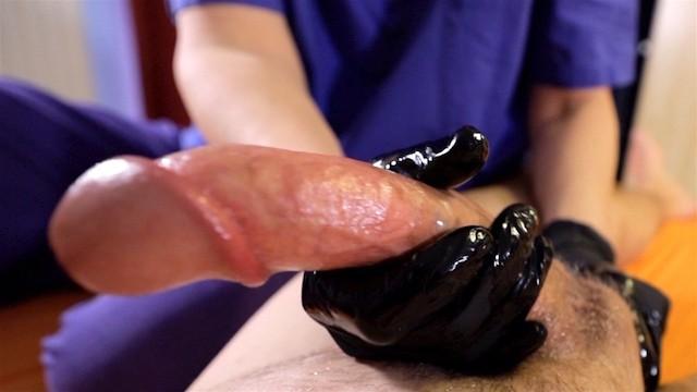 Real sex post Femdom handjob with post orgasm torture nurse mistress