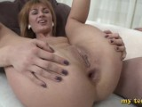 REDHEAD TEEN FUCKED IN THE ASS WITH A BIG COCK - BIG ANAL GAPE