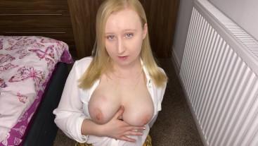 Cum on my panties JOI humiliation jerk off instruction jerk off with pantie