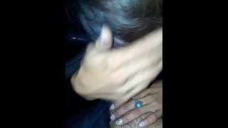 HOT Latina Teen Chola Hooker Sucks Cock in Car