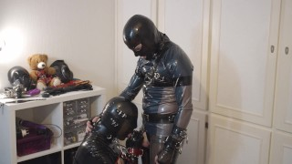 Miss Maskerade Rubber dominated Gagged and fucked – SAFP001