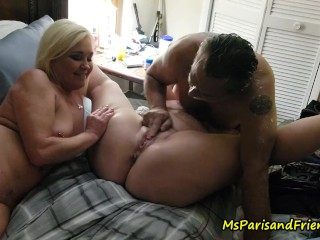 Eating Squirting Pussy at the Orgy