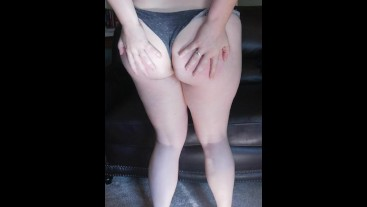 Paddling My Big, Sexy Pale Ass with a Hairbrush