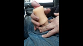 Get caught using toy from adult store in their parking lot..lol