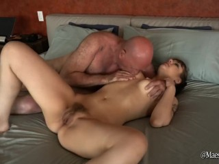 Golden Showers Grandpa and Teen – pee, blowjob and fucking