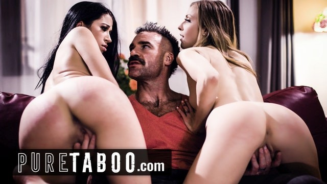 Wives prefer bigger dicks Pure taboo bigamist catches his 2 wives cheating on him