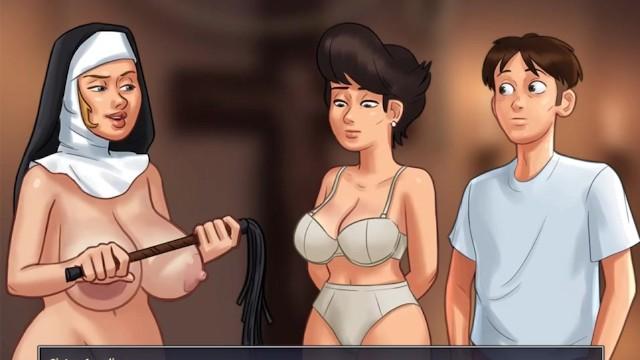 Pics nun porn Summertime saga i will purge your sins- sadist nun - part 167