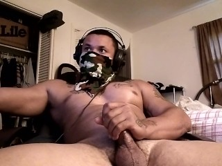 Jacking off while watching...