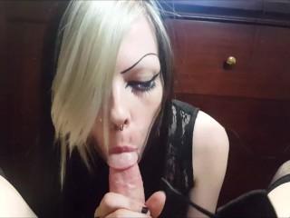Sucking tgirl...