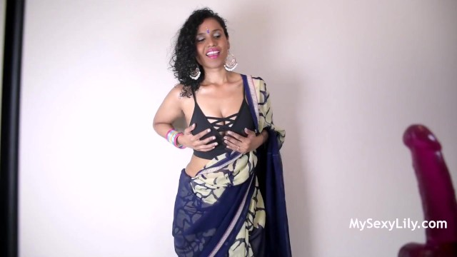 Instructing my son masturbation - Horny lily giving young indian fans jerk off instruction