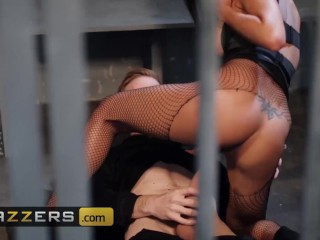 Brazzers – Asian in fishnets Polly Pons fucks big dick cop