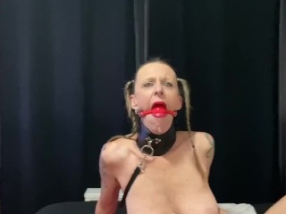 Collared and Gagged