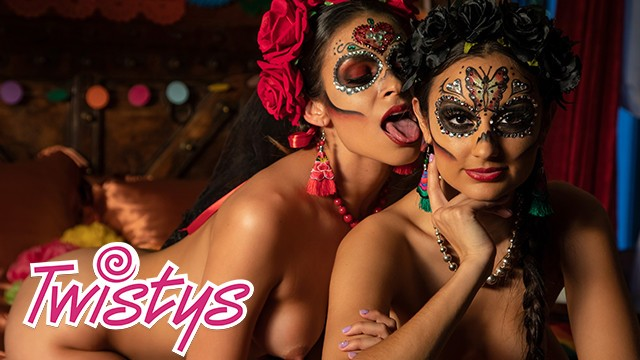 Mally roncal asian - Twistys - mexican day of the dead lesbian sissoring - molly stewart, bella