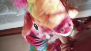 MEJOR nuevo porno - Big boobs Folla A Tu Vecino Por El Culo Con Un Disfraz De Unicornio