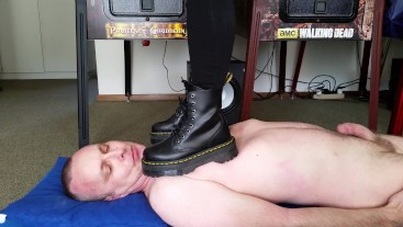 Hard Trampling and Stomping with Doc Martens Jadon