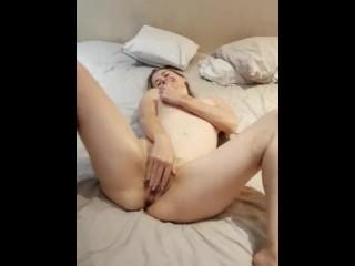 My beautiful wife Lizzy Masturbating, Fisting and smoking! Hot milf!