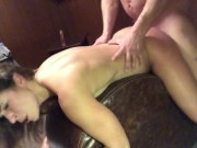 Daddy's home pt 5: deep throat and deep fuck