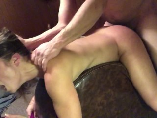 Daddy's home pt 6: deep fuck and blow job
