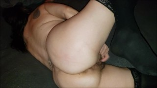 Granny Can't Stop Cumming Hard Pussy Playin
