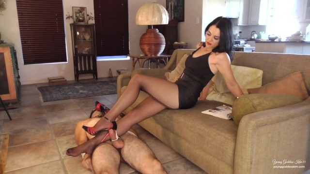 Long human cock Long suffering foot tease preview - femdom - young goddess kim