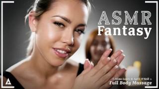 Pornos gratis - ASMR Fantasy - Alina Lopez Asmr Roleplay Fantasy- Masaje Lésbico De Cuerpo Completo