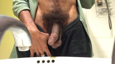 Rock Mercury Pissing with a Hairy BUSH