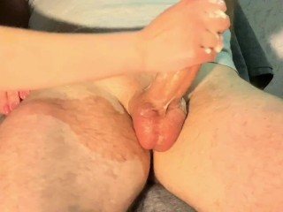 Super hot post orgasm polishing. Must watch