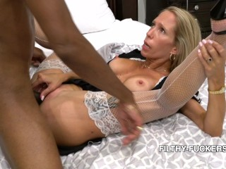 Mary Fucks Her Stepbrother In A Filthy French Maid Uniform 4K