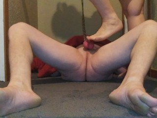 Wife busting tied balls