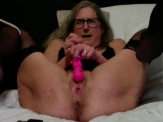 Hot Milf Masturbates Hubby Fucks To Huge Squirting Orgasm