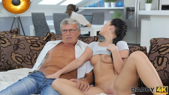 Black haired girls fucking Daddy4k. raven-haired angel erica black gets old and young sexual