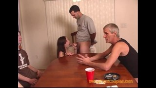 Poker Game Payoffs with Blowjobs and Pussy Licking